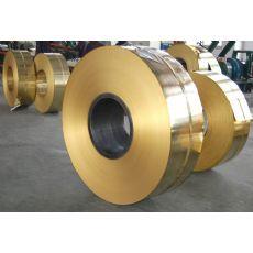 H63软态黄铜带C2720半硬黄铜带 可以分条纵剪加工