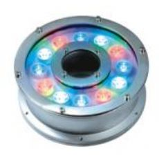 18W红绿蓝变色LED水池喷泉灯(厂家直销)彩色喷泉灯