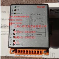 0811405097德国Rexroth力士乐模拟式放大器