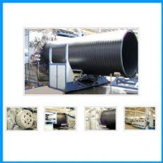 大口径HDPE中空壁缠绕管生产线