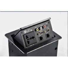 气动升降式桌面插座ZH100A
