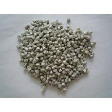 灰白ABS阻燃塑料颗粒粒子