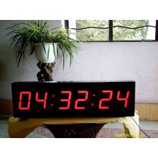 LED电子钟(时间轮询机制)