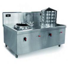 厨房设备一蒸一炒组合炉
