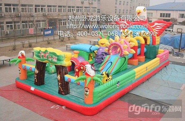 郑州卧龙儿童充气城堡
