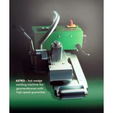 垃圾填埋场爬焊机 进口HDPE土工膜焊机 LEISTER土工膜爬焊机
