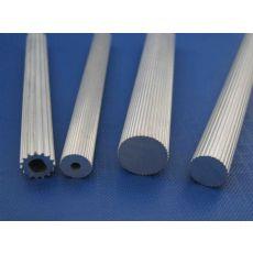 6063铝管拉花,6063铝管网花,深圳拉花铝管厂家