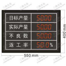 定制东莞电子看板|生产看板