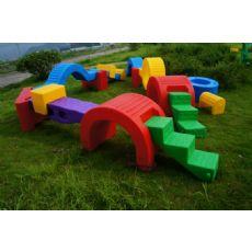 南宁特价幼儿园器材 塑料幼儿园体育训练器材(厂家直销)