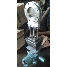 PZ973W-10NR电动高温插板阀,刀型闸板阀