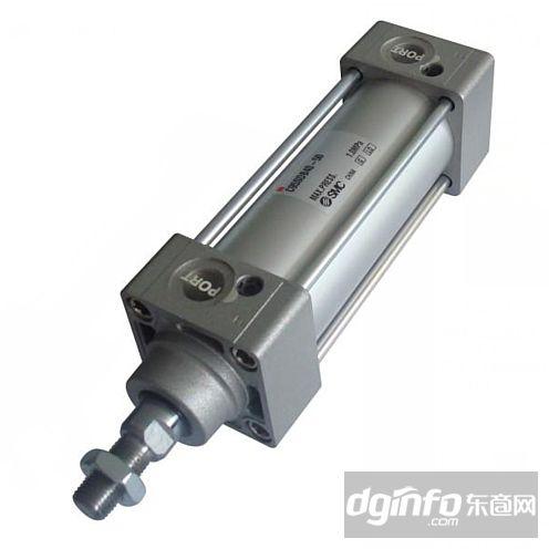 smc气动元件    日本smc标准型气缸(双作)cj2系列    型号表示方法图片