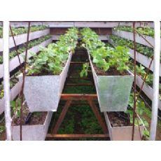 栽培草莓专用长槽,多种规格草莓栽培槽,无土栽培草莓槽