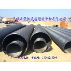 HDPE钢带管厂家