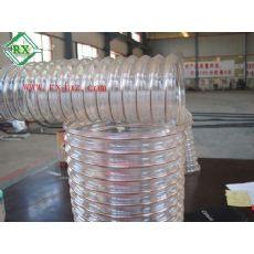 PU钢丝缠绕管,PU钢丝螺旋伸缩管