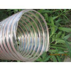 PU钢丝集尘管镀铜钢丝缠绕管,聚氨酯耐磨管