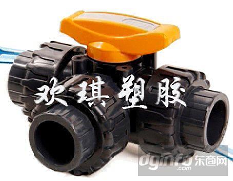 防腐三通球阀符合饮用水标准图片