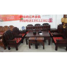 特价北京市君缘阁古典红木家具有供应 东实木家具摆放图片