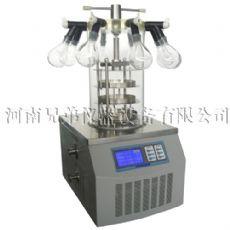 真空冻干机|LGJ-10多歧管压盖型真空冷冻干燥机