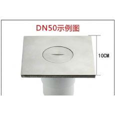 清扫口DN50 不锈钢清扫口 304地面检查口 铜扫除口