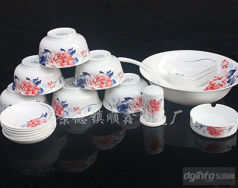 东商网 产品信息 包装 陶瓷包装容器 陶瓷餐具批发厂家  景德镇顺鑫图片