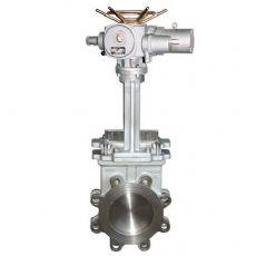 PZ973W-10NR耐高温电动灰闸阀,高温刀型灰渣阀,超高温灰渣闸阀