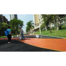 彩色乳化沥青路面陕西安儒亿彩色乳化沥青路面 儒亿ry彩色乳化沥青及高分子改性产品是国际领先技术,适用