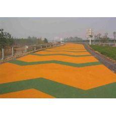 甘肃彩色路面 兰州彩色乳化沥青路面工程