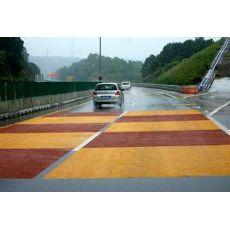 彩色防滑路面陕西安彩色路面