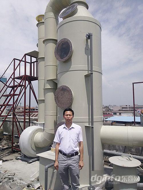 详细介绍frp洗涤塔是硫酸生产线的主要设备