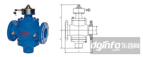 zl47f-10/16动态流量平衡阀结构图图片