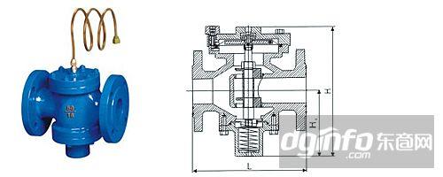 zyc-16动态压差控制阀(平衡阀)结构图图片