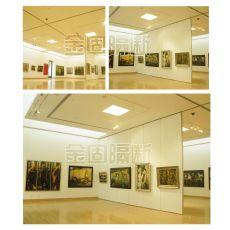 美术馆博物馆展览馆悬挂式展板