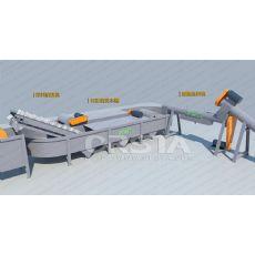 LDPE生产线_废旧LDPE塑料回收生产线_破碎清洗生产线