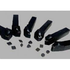 车加工有夹砂的铸钢件车刀具
