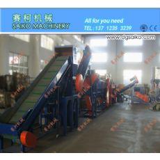 LDPE薄膜清洗流水线  PE农膜地膜清洗回收设备