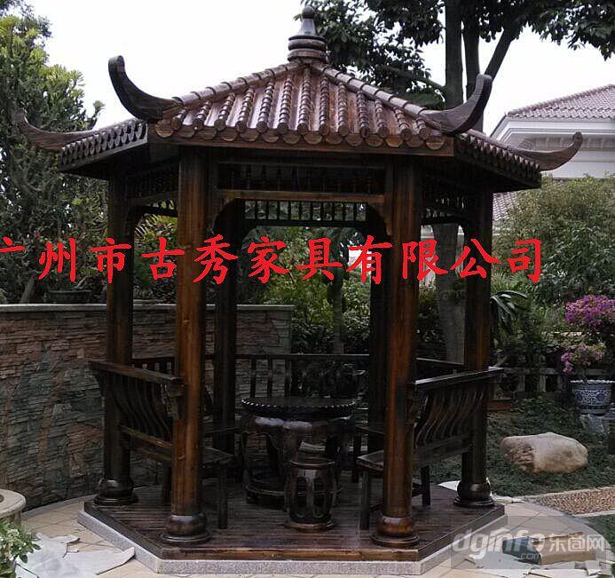 别墅凉亭效果图,景观庭院设计|东商网