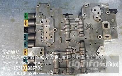 劳斯莱斯自动变速箱维修,变速箱阀体维修图片