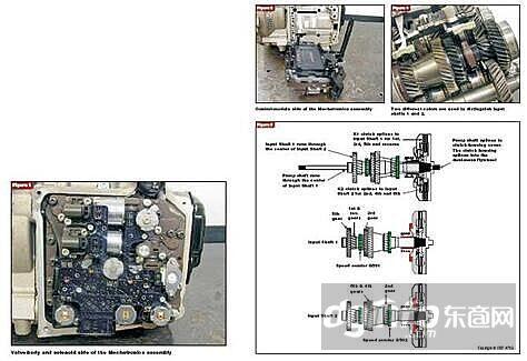 dsg变速箱维修,自动变速箱阀体维修图片