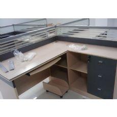 郑州屏风办公桌,隔断式电脑桌厂家销售