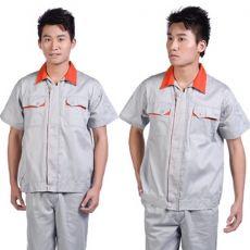 花都工厂工衣定做,新华车间工衣定制,员工夏季工衣定做,短袖工衣现货批发,质量好价格低