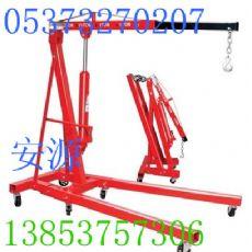 供应0.5-2吨手动液压吊车,液压小吊车