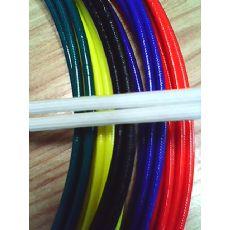 供应彩色高压纤维管,彩色内纤外胶套管,彩色内纤玻纤管