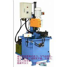 铁路钢管切割机 油压金属圆锯机 油压半自动钢管切割机