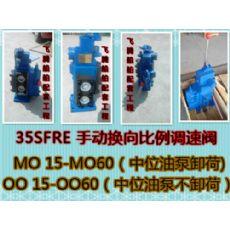 35SFRE-MO32手动换向比例调速阀/手动比例阀