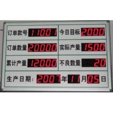 【央达定制】仪征/丹阳/无锡时钟看板、专业车间安全运行看板生产厂家