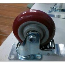 中型聚氨酯脚轮 PVC轮子