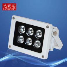 6灯珠LED红外监控补光灯  平安城市补光灯