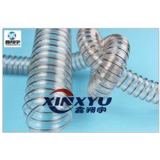 PU钢丝软管,聚氨脂吸尘软管,耐磨胶管