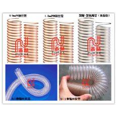 耐磨吸尘管,耐磨软管,PU耐磨钢丝吸尘管