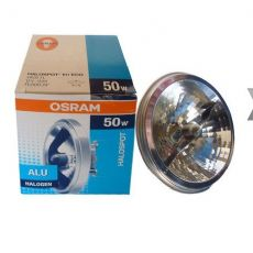 欧司朗 普及型铝反光杯灯 HALOSPOT 111 41635 FL 12V 50W 24度